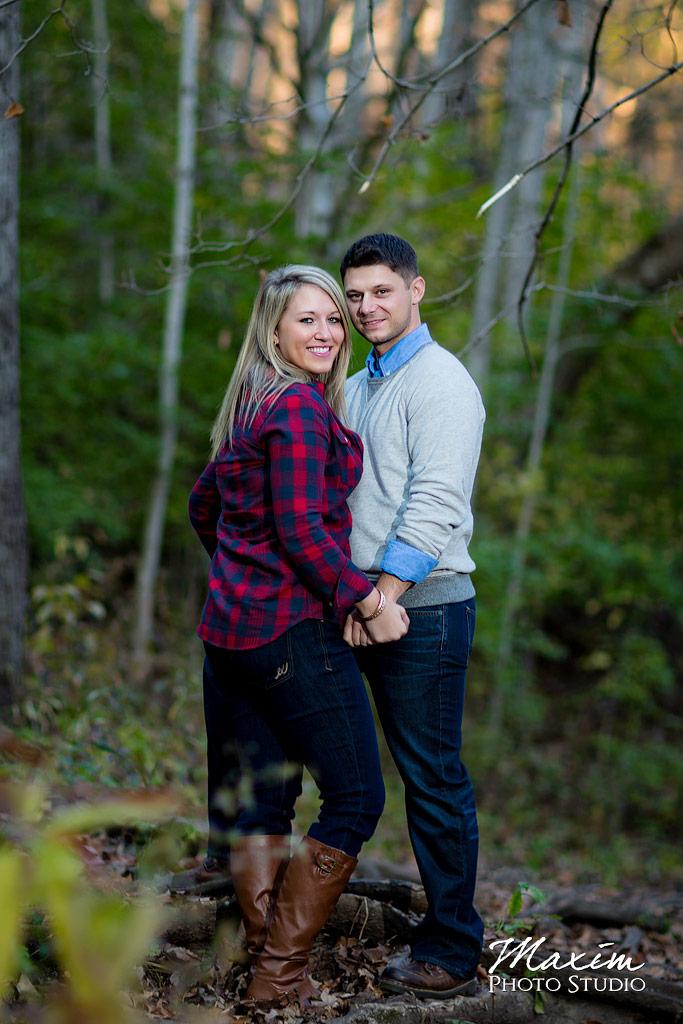 John Bryan State Park woods Engagement
