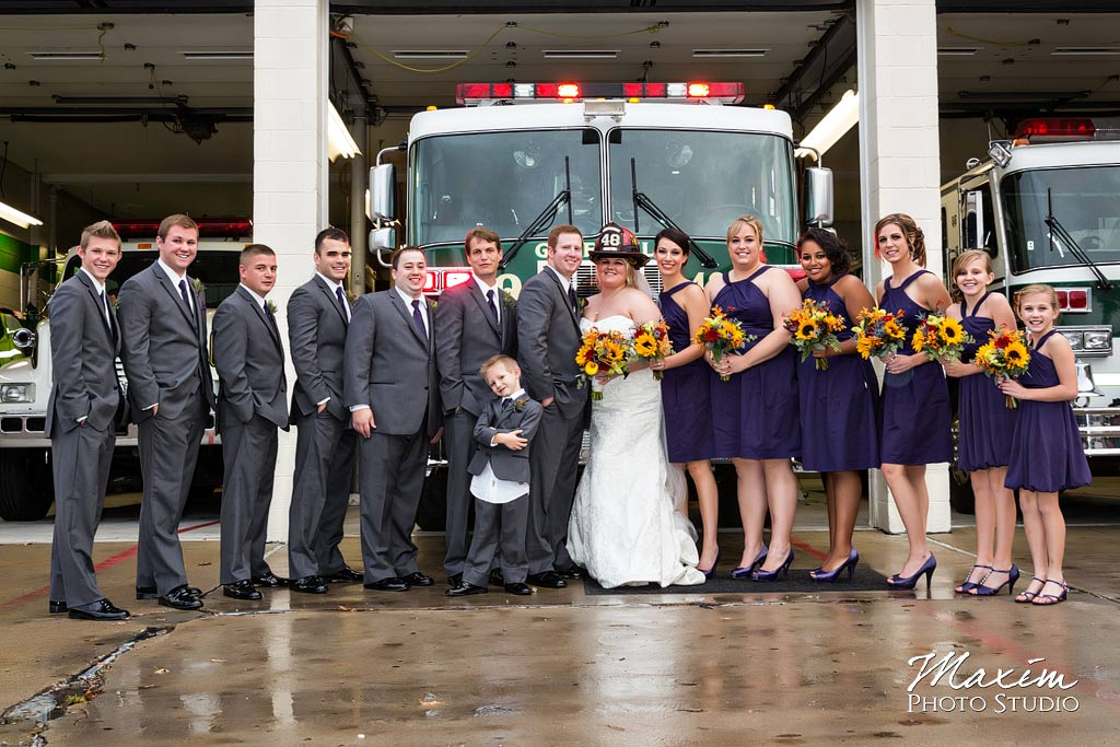 Greenhills Fire Department Cincinnati Wedding cj02