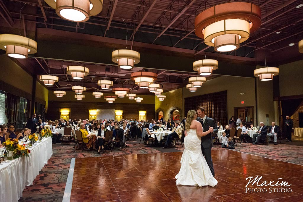 Oscar Event Center Cincinnati Wedding reception dance
