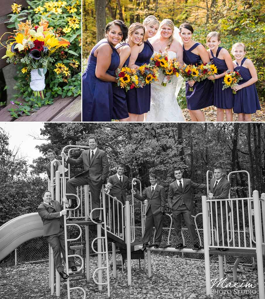 Cincinnati Wedding bridal party