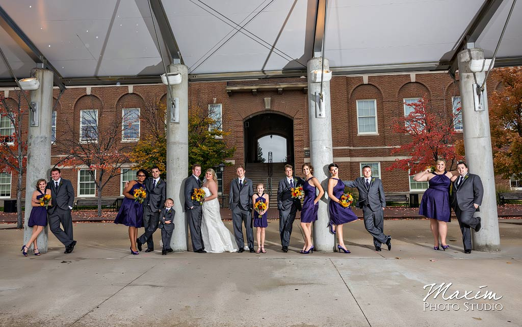 University Cincinnati Wedding pictures cj01