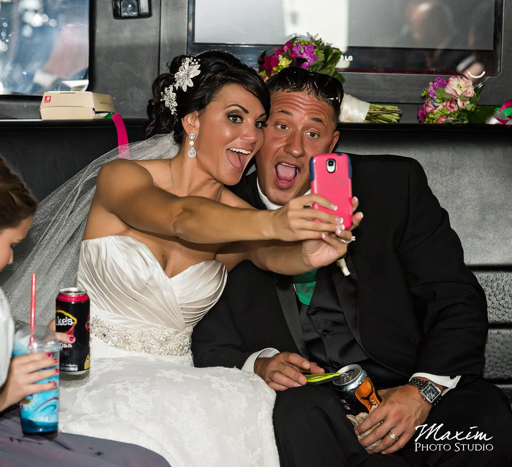 Lake Lyndsey Wedding Cincinnati Selfie