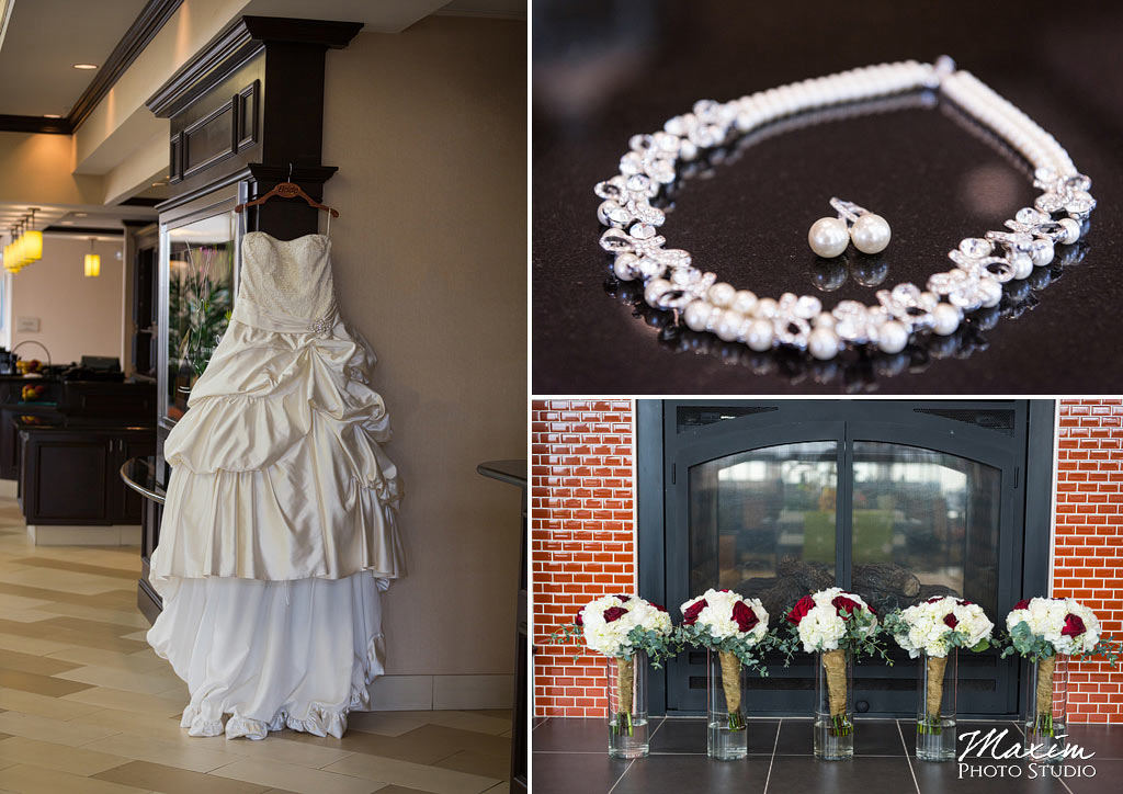 Hilton Garden Inn Wedding dress