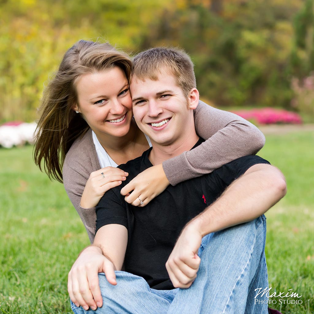 Inniswood Metropark fall engagement