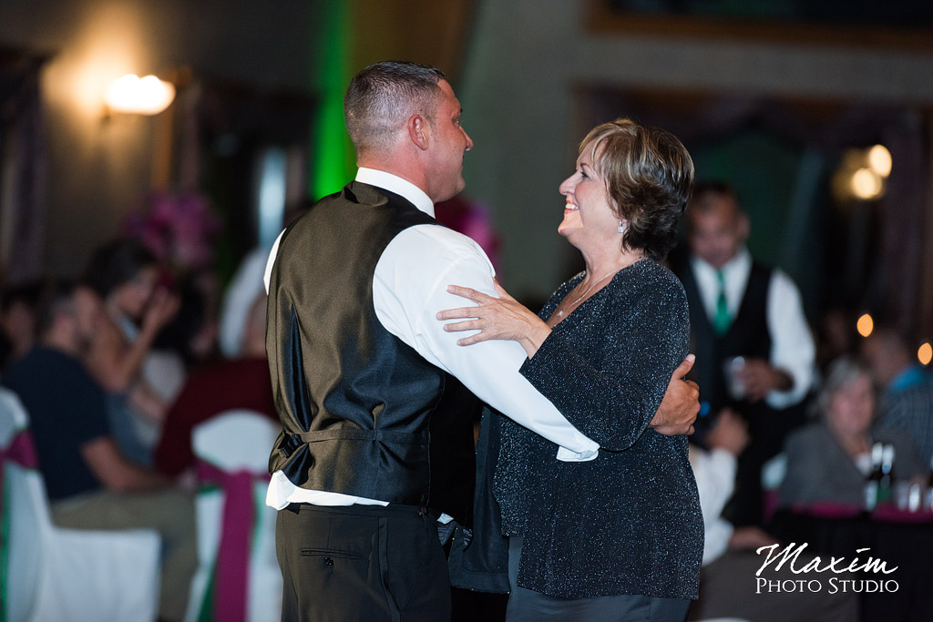 Mother Son first wedding dance Lake Lyndsay