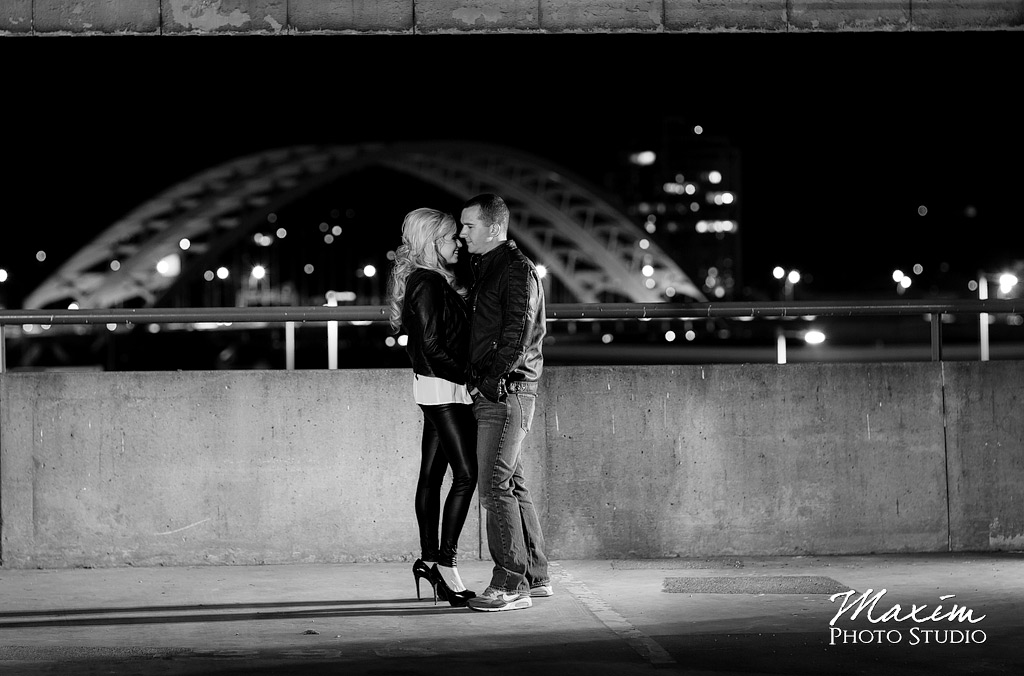 Daniel Carter Beard Bridge Engagement photo