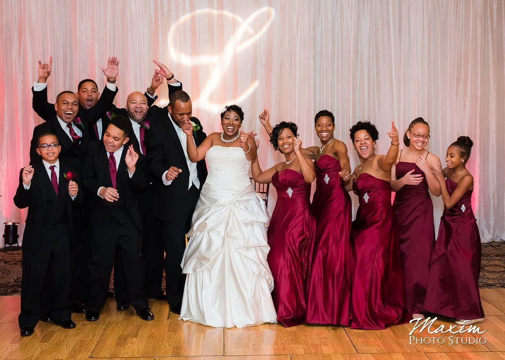 House Party Photography Manor House Bridal Party