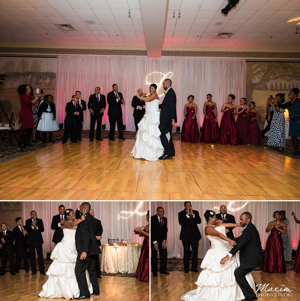 Manor House Mason Ohio Reception dance