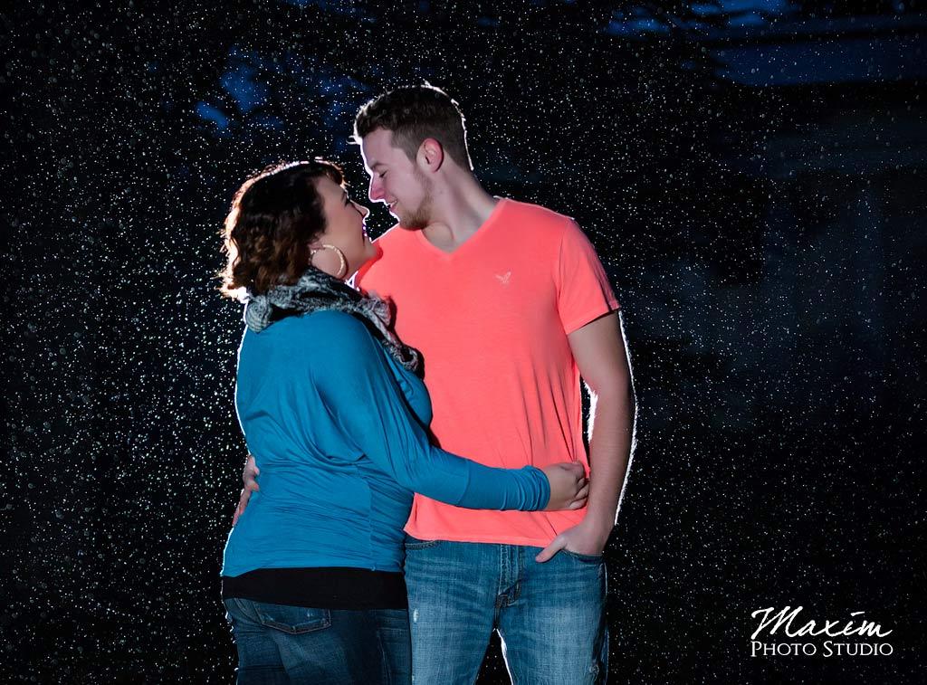 Rain Spring Grove Cemetery Engagement