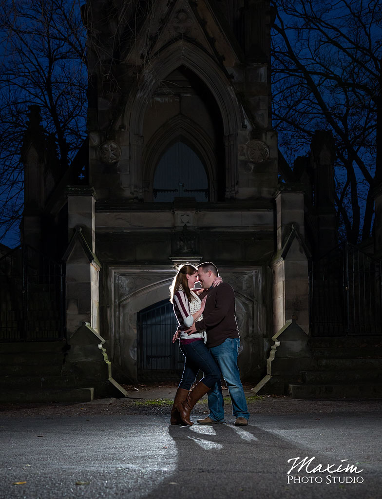 Off Camera Flash Spring Grove Cemetery LT