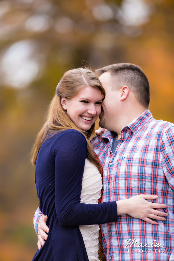 Wedding Couple at Spring Grove Cemetery engagement