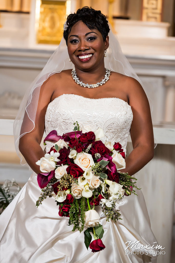 St. Aloysius Chapel wedding portraits