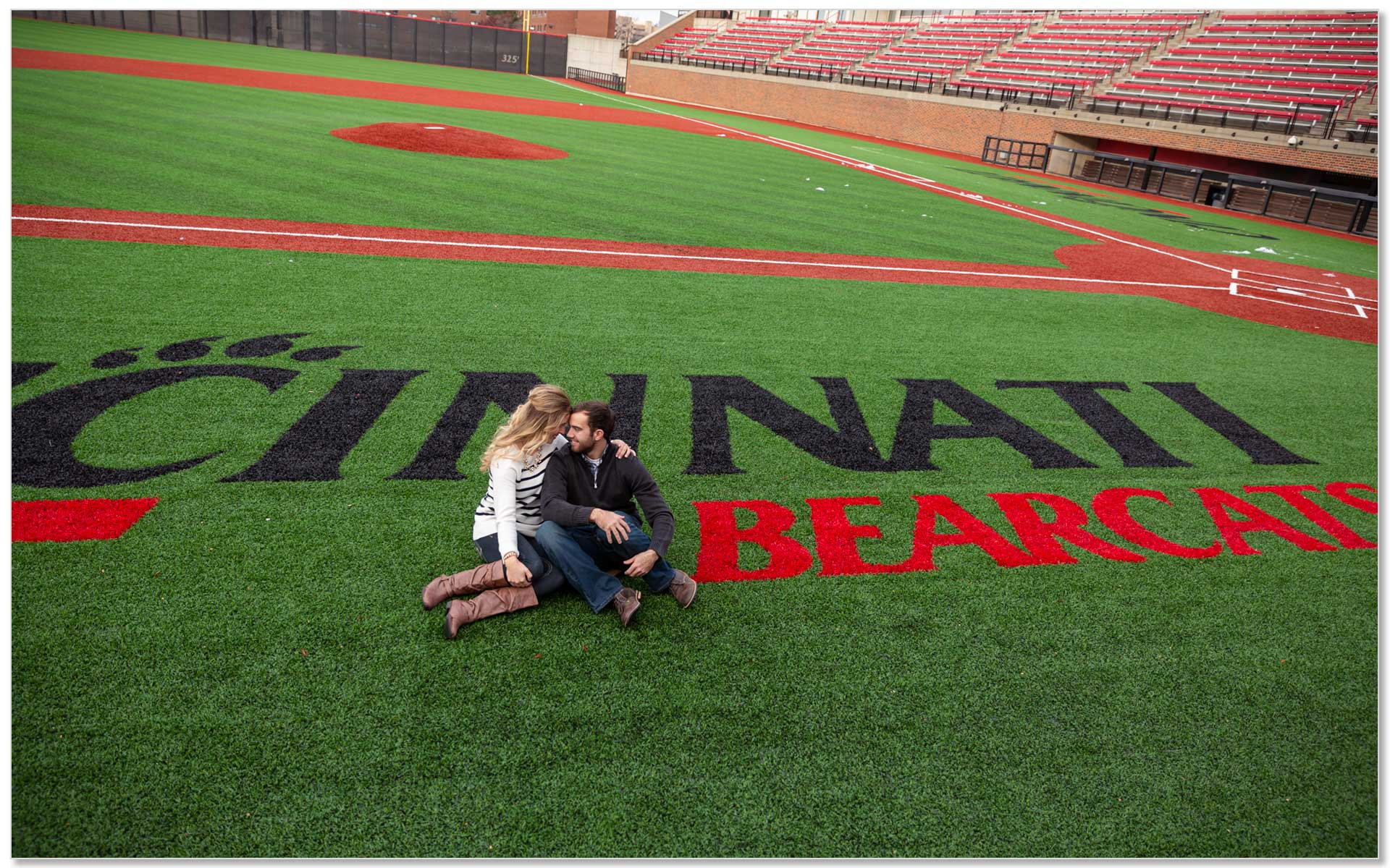University cincinnati baseball engagement