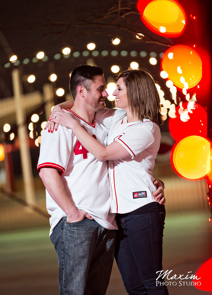 Great American Ballpark night engagement