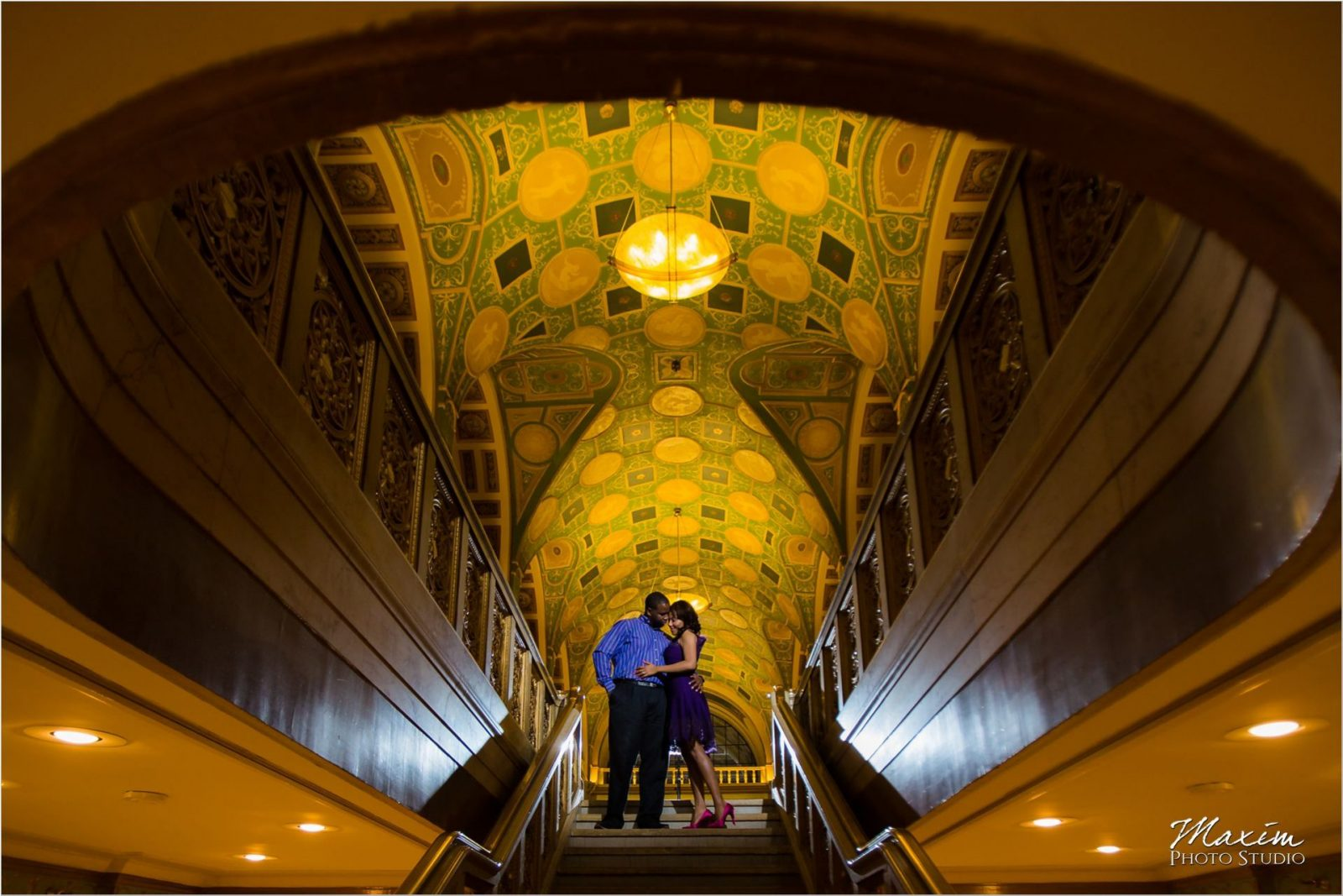 Dixie Terminal Cincinnati Winter Engagement