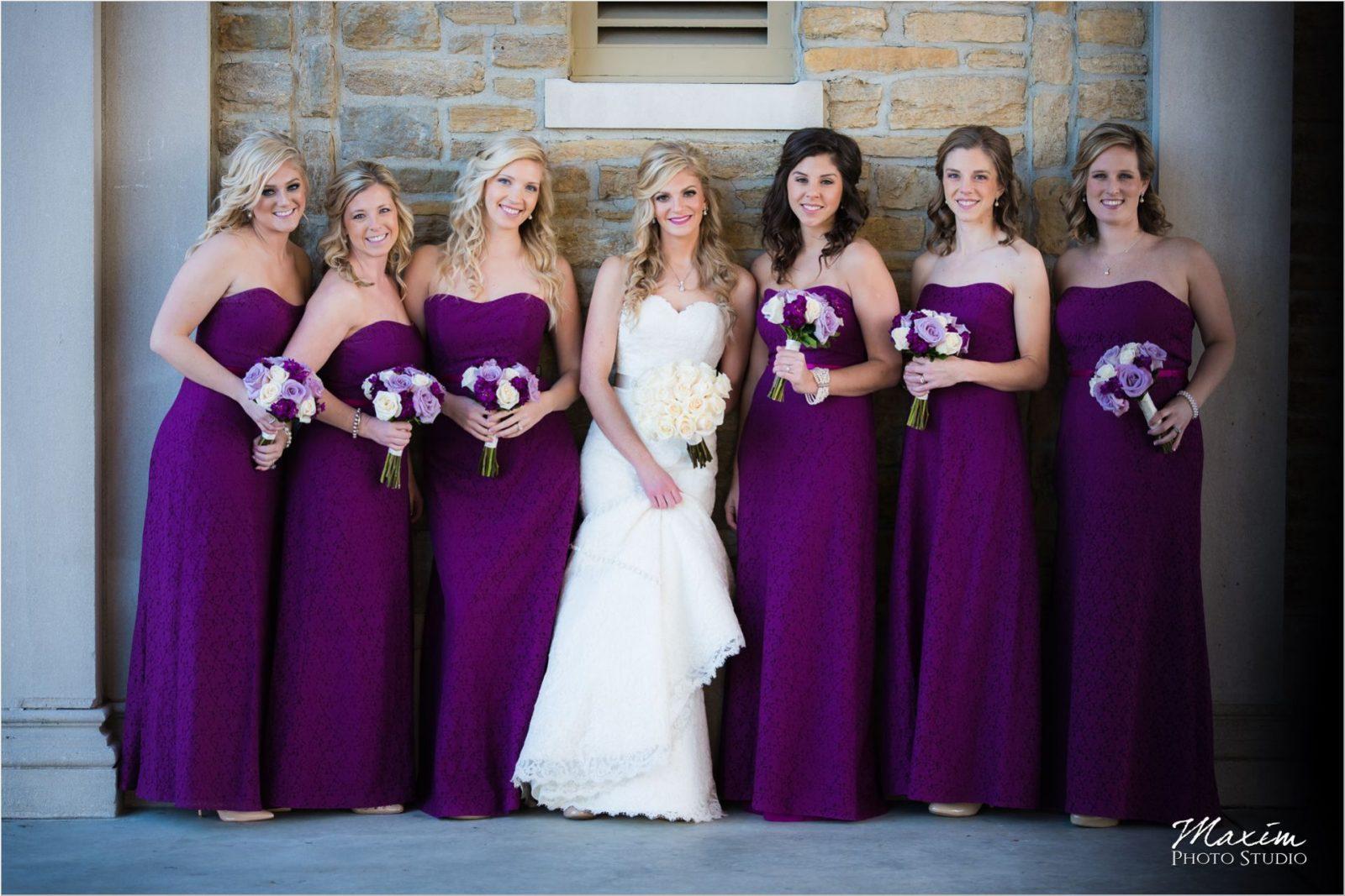 Ault Park Cincinnati Bridesmaids
