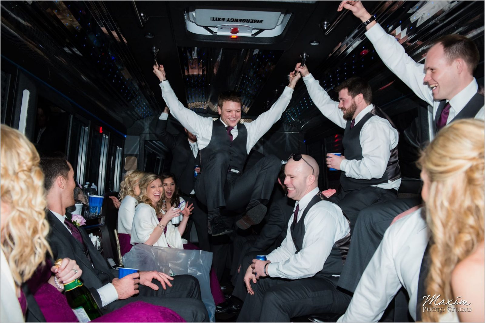 Motortoys Limo Bridal Party