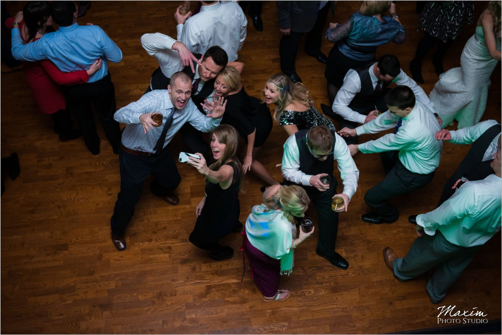 The Grand Covington KY Reception Group Dance