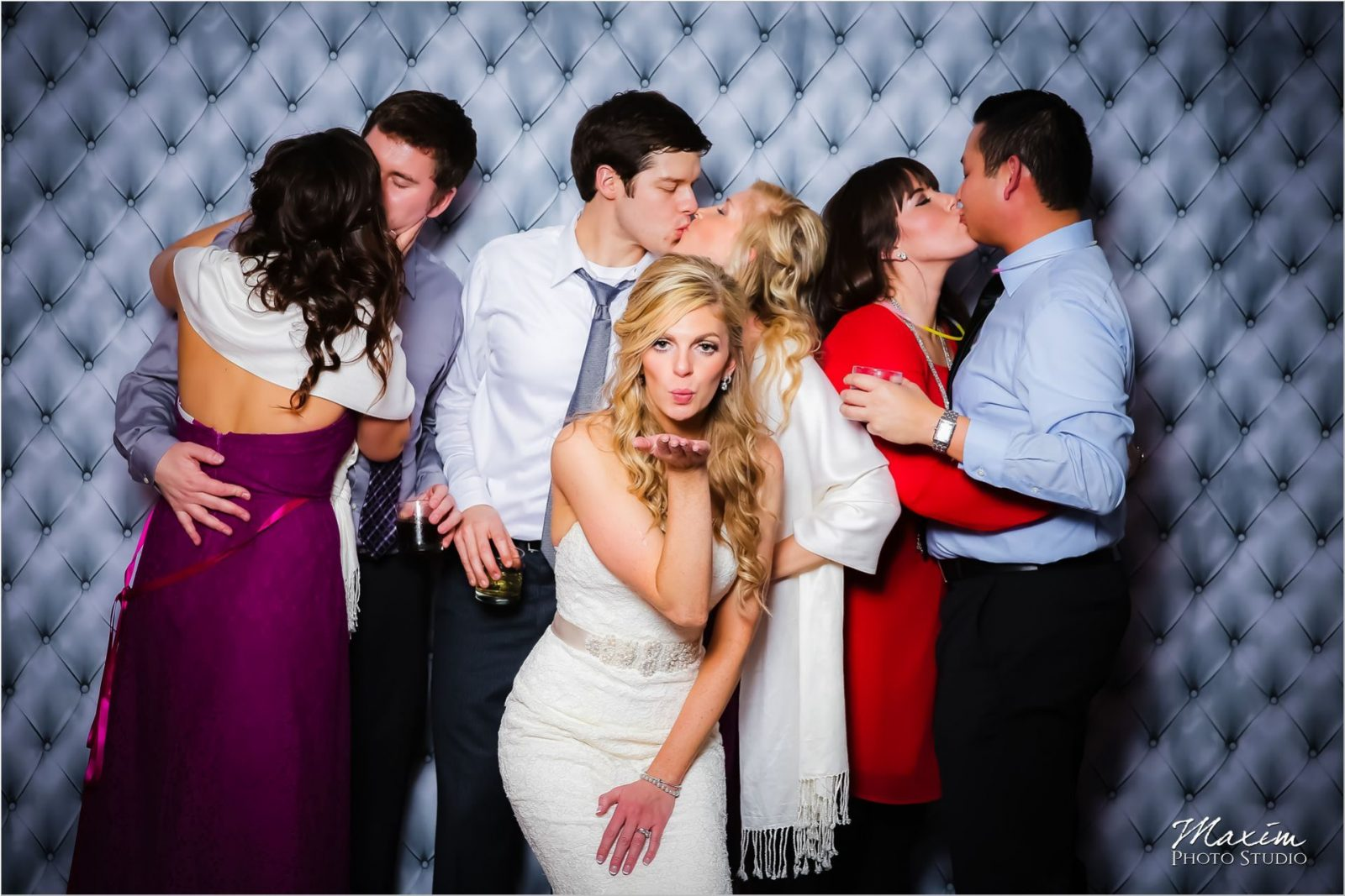 The Grand Covington Wedding Reception Photo Booth