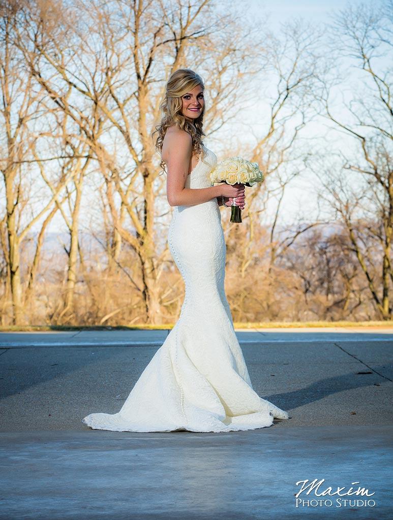 Ault Park Covington KY Wedding Portraits