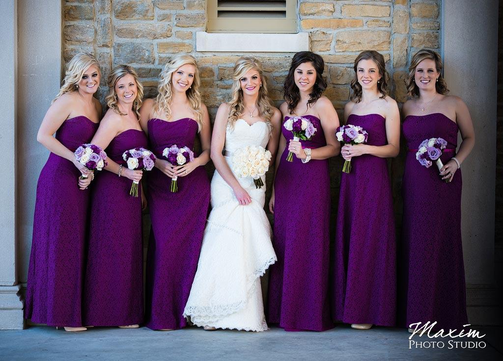 Ault Park Covington KY Bridesmaids