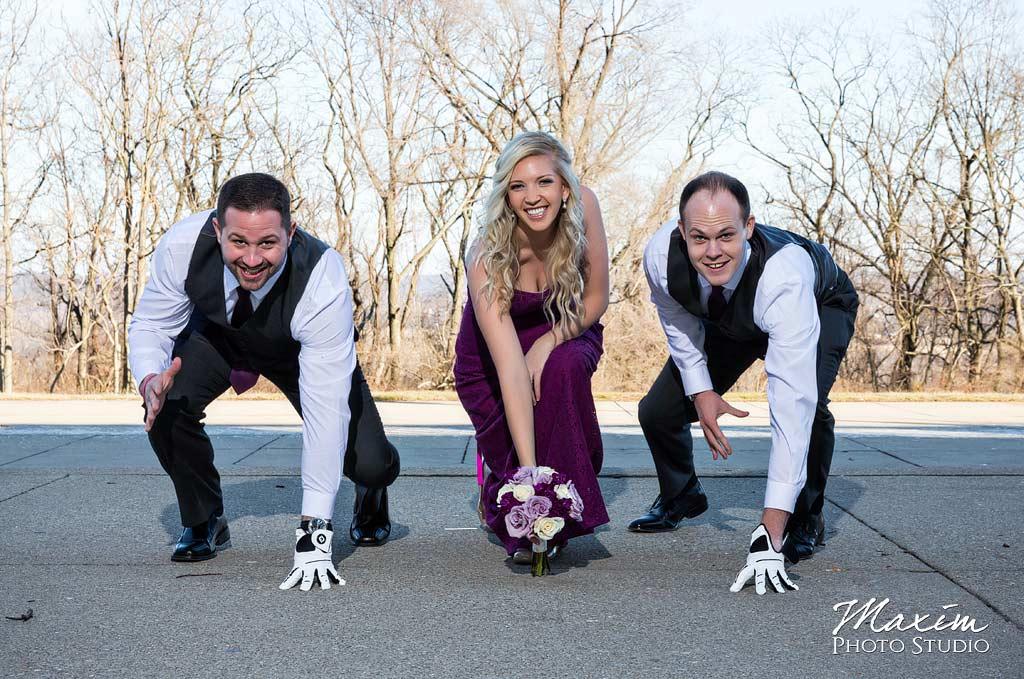 Ault Park Covington KY Bridal portraits