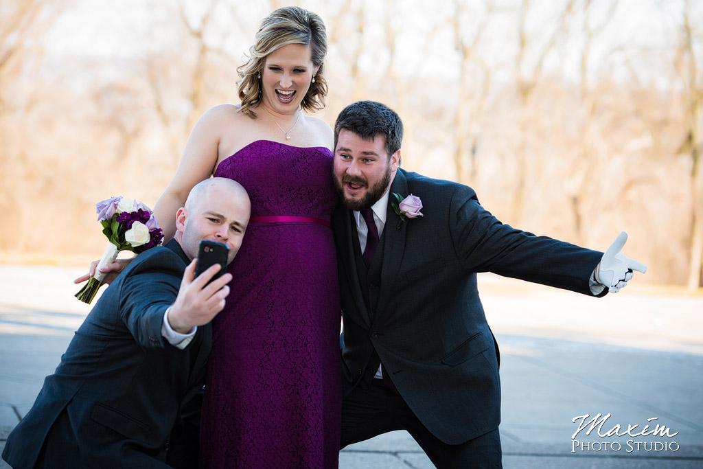 Ault Park Covington KY Bridal selfie