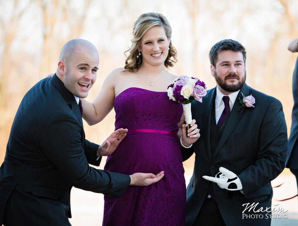 Ault Park Covington KY Bridal Party