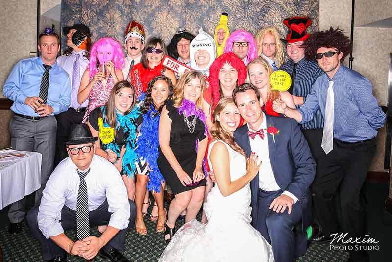 Photo Booth Dayton Ohio Wedding