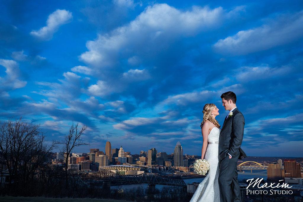 Drees Pavilion Wedding Sunset Overlook