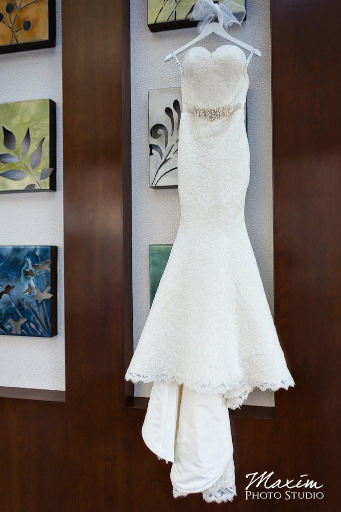 Hyatt Cincinnati Ohio Wedding dress