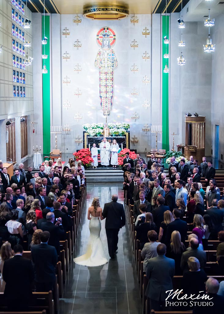 Our Lord Christ the King Cincinnati Wedding Ceremony