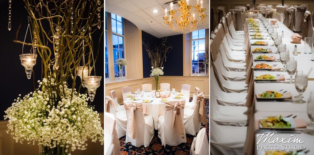 The Grand Covington KY Wedding Reception Setup