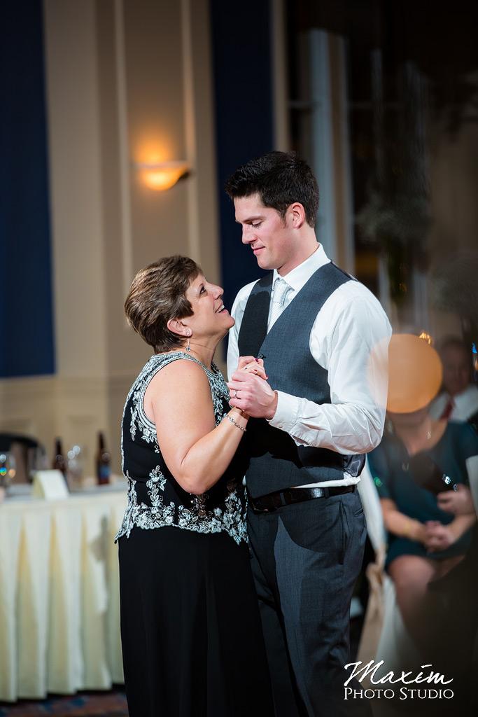 The Grand Covington KY Wedding Mother Son