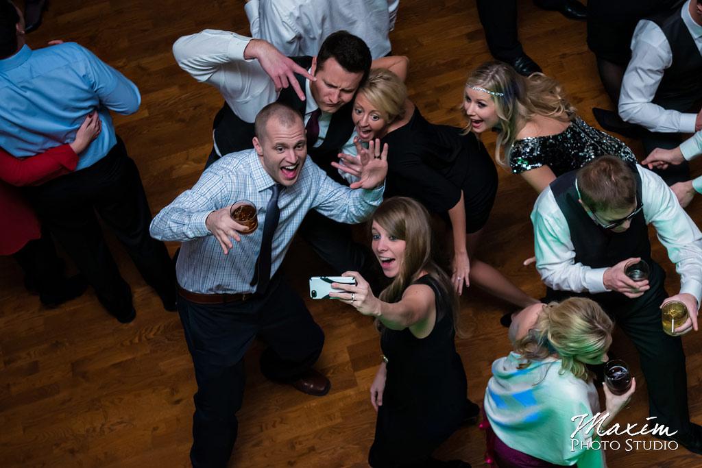 The Grand Covington KY Wedding Reception selfie