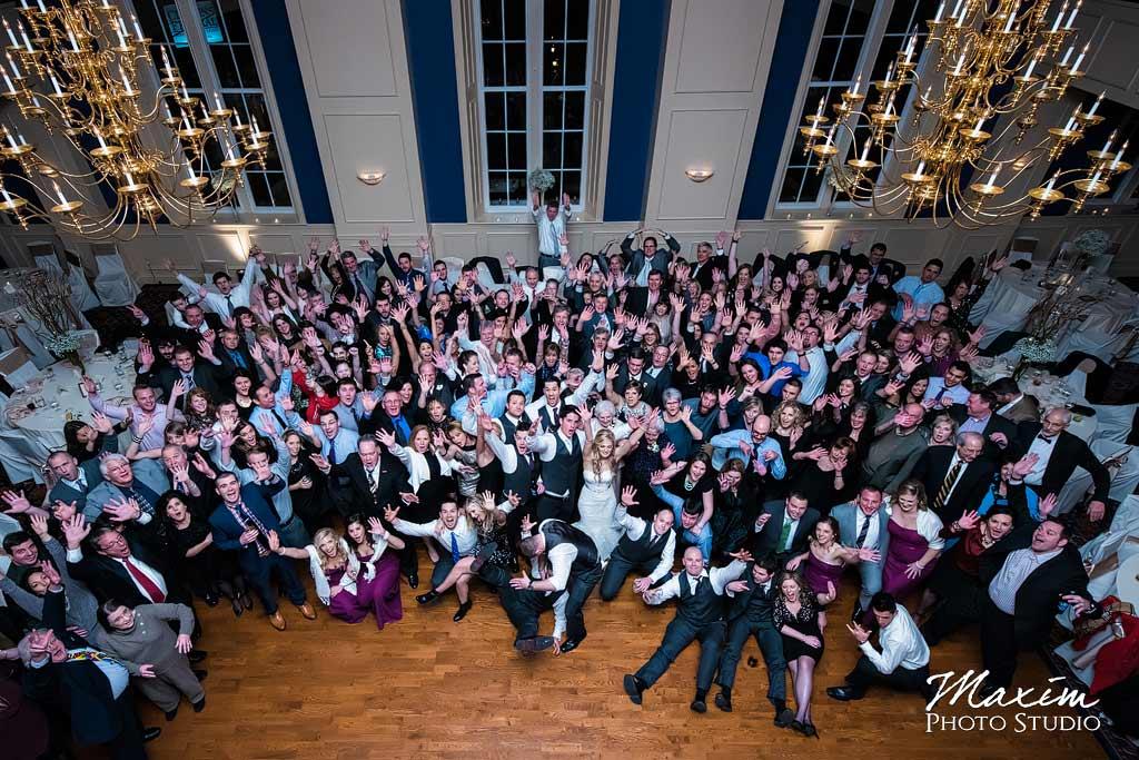 The Grand Covington KY Wedding Reception Group Photo