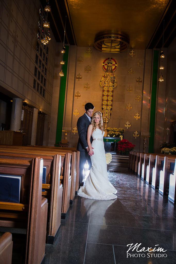Our Lord Christ the King Cincinnati Wedding Portraits