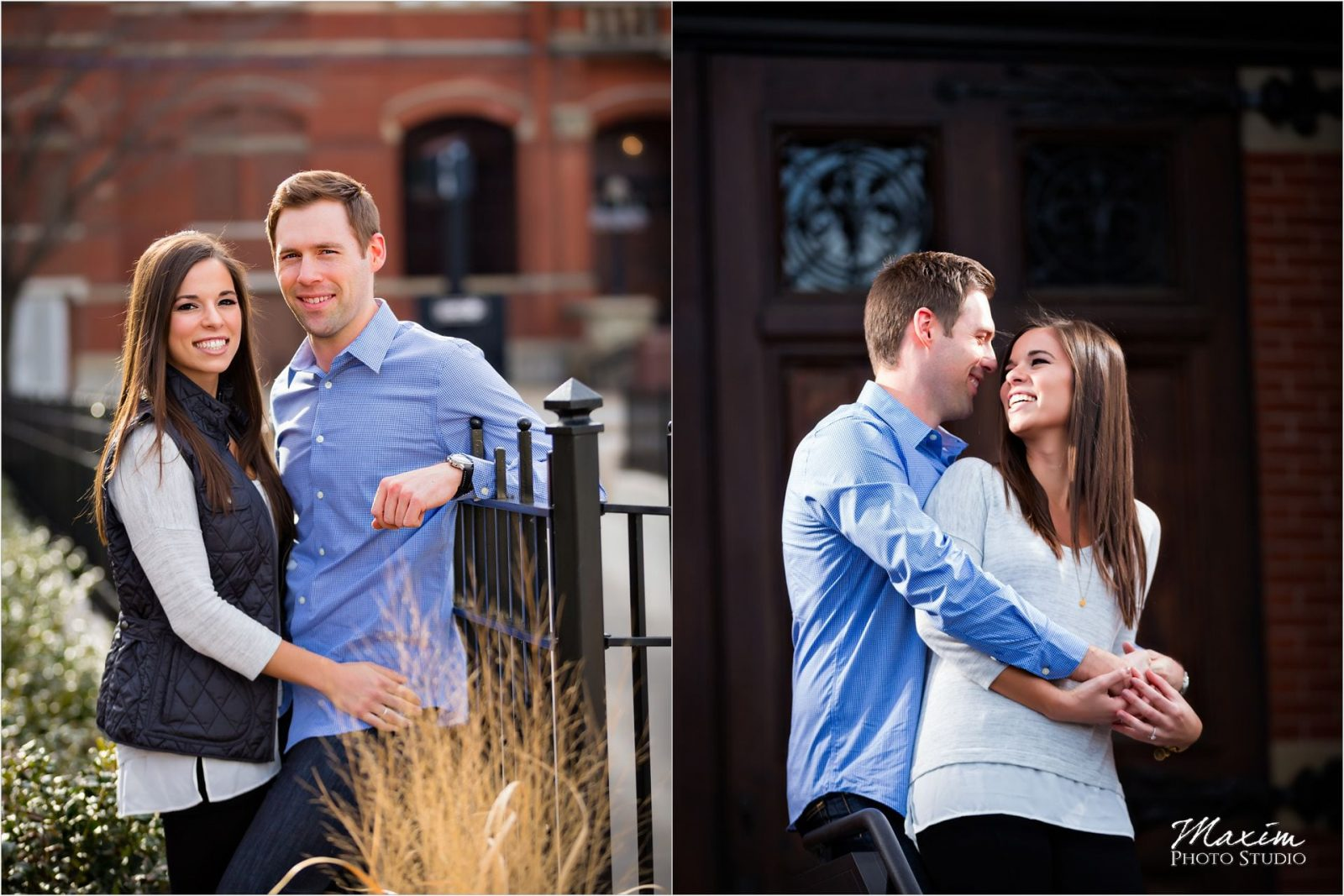Cincinnati Wedding Photographers Washington Park Engagement