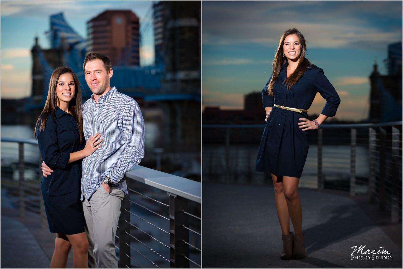 Cincinnati Wedding Photographers Smale Riverfront Park Engagement