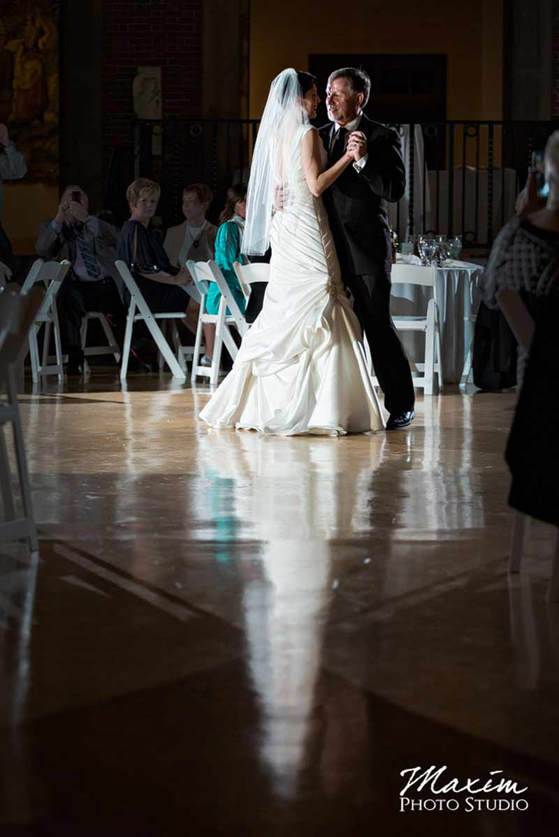 Dayton Art Institute Wedding Reception