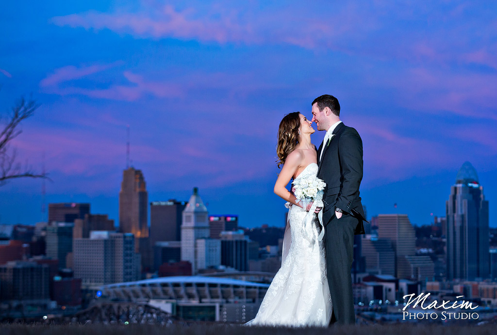 Devou Park Cincinnati Bride Groom Portraits