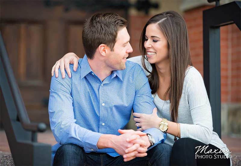 Music Hall Cincinnati Ohio Engagement mk 01