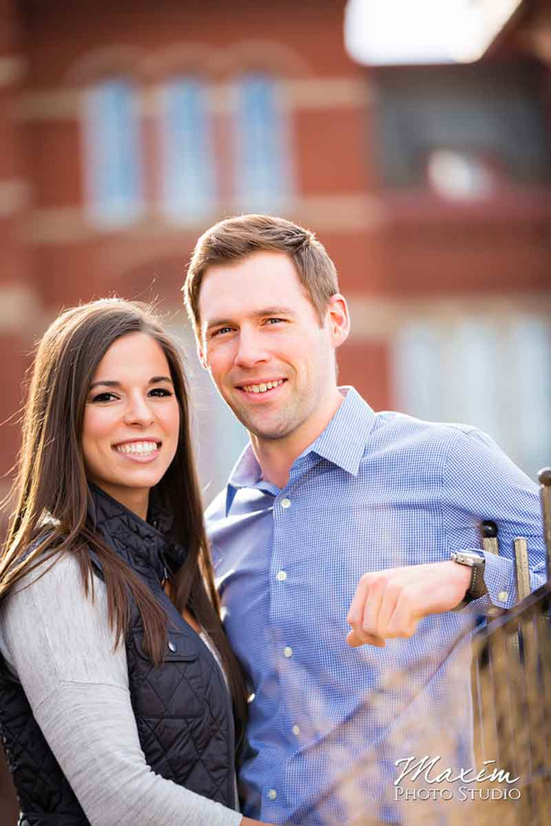 Washington Park Cincinnati Ohio Engagement
