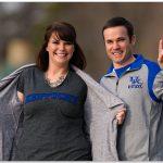 Kentucky Wildcats engagement photo