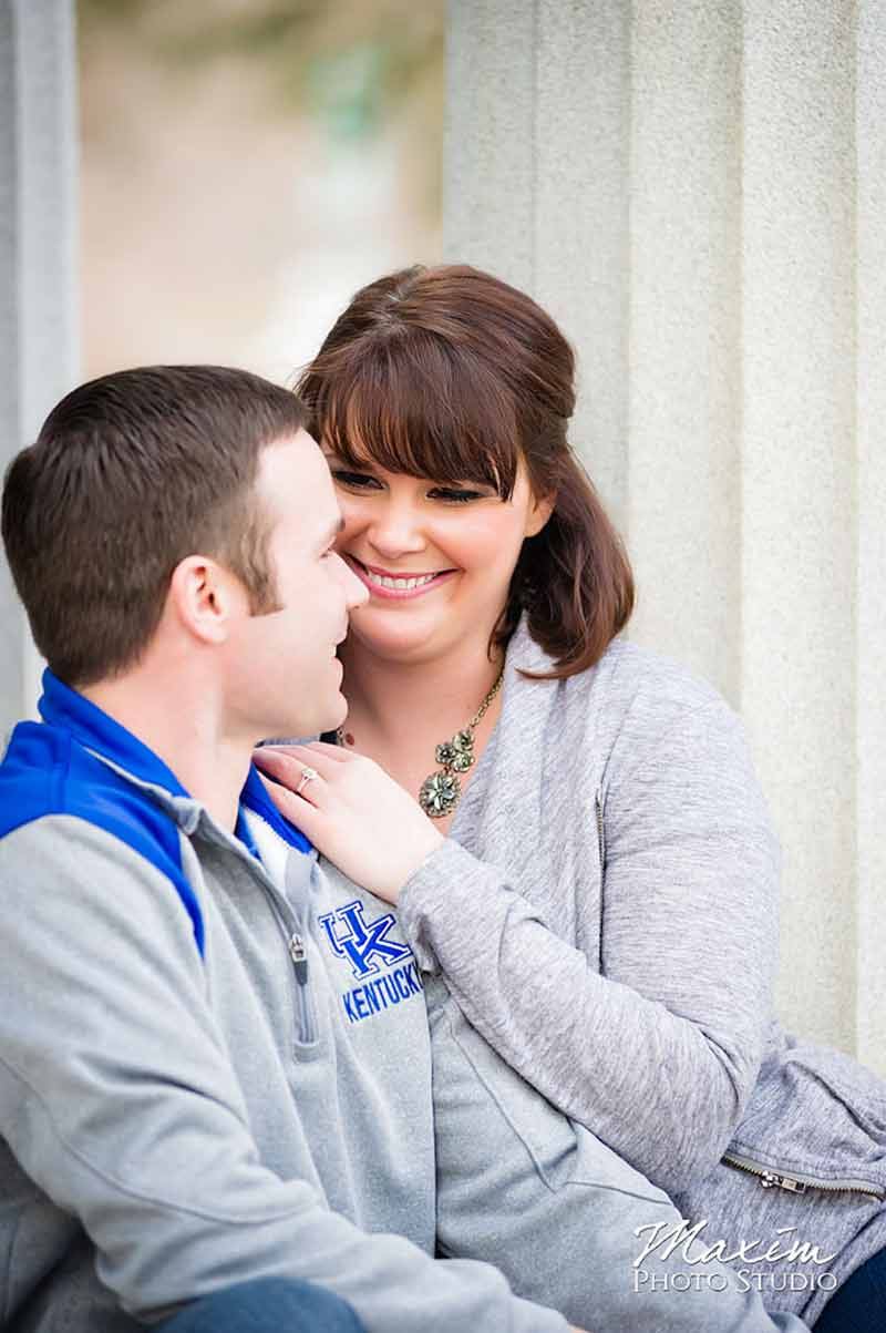 Spring Grove Cemetery Cincinnati Ohio Engagement
