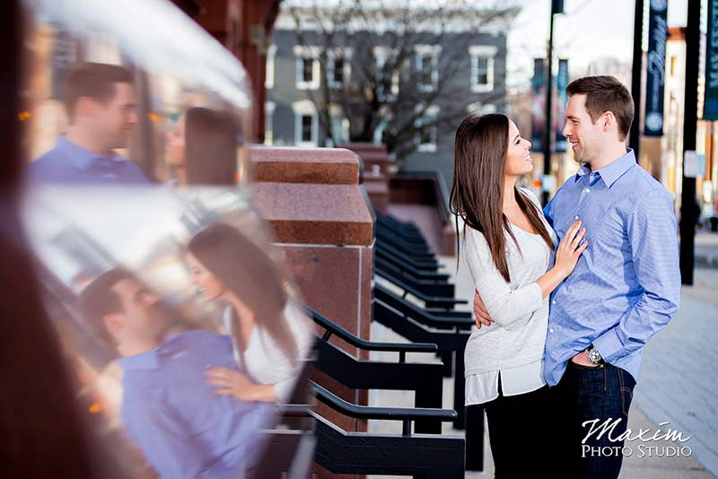 Music Hall Downtown Cincinnati Engagement