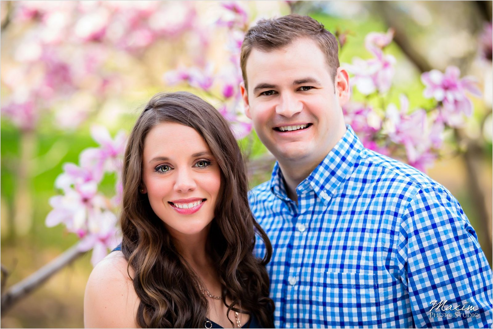 Cincinnati Wedding Photographers Eden Park Spring Engagement Bride Groom