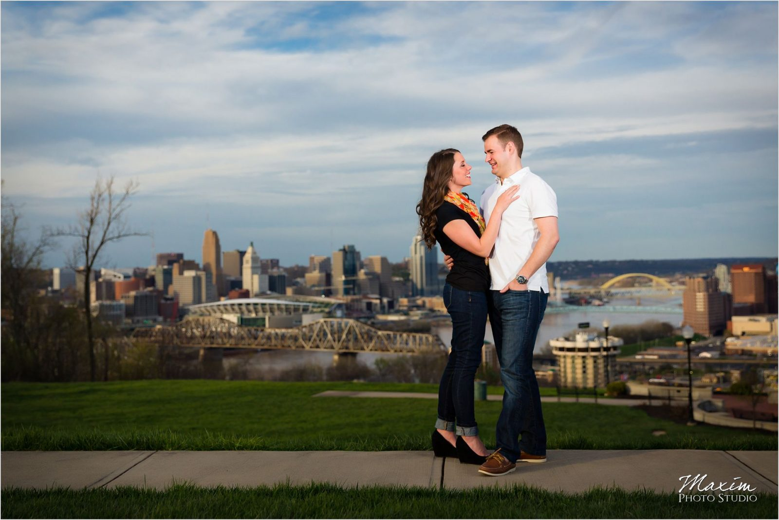 Cincinnati Overlook Wedding Photographers Engagement Drees Pavilion