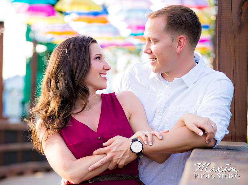 Panama City Beach Amusement park Engagement