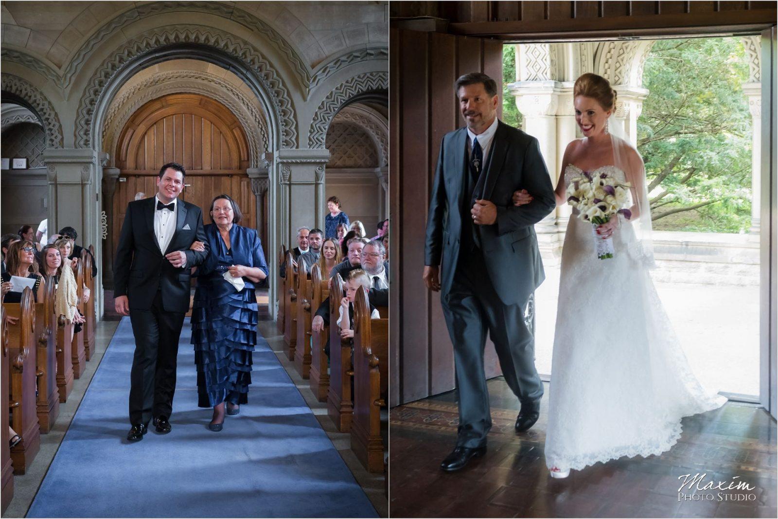 Norman Chapel, Cincinnati Wedding ceremony